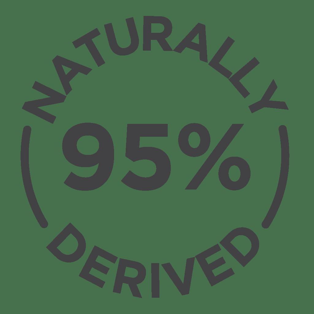 95% Natural